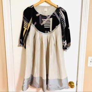 {Anthro} LAUREN MOFFATT Babydoll Dress Size 6